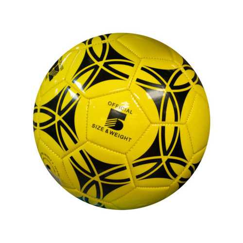 Size 5 Glossy Patterned Soccer Ball ( Case of 4 )