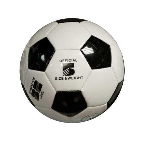 Size 5 Black & White Glossy Soccer Ball ( Case of 6 )