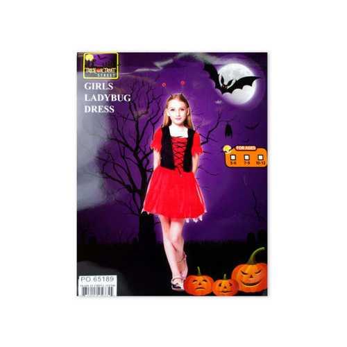 Girls Ladybug Halloween Costume ( Case of 2 )