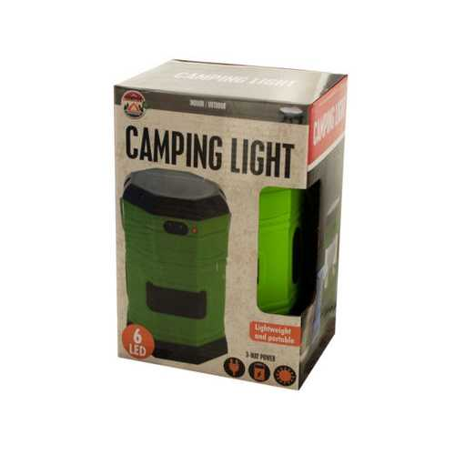 3-Way Power LED Camping Lantern ( Case of 6 )
