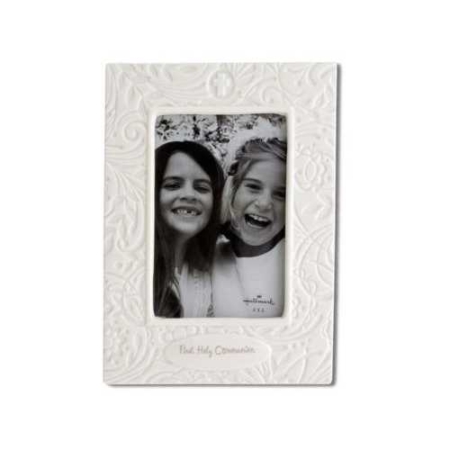 First Holy Communion Porcelain Photo Frame ( Case of 8 )