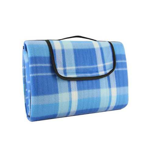 Waterproof Polar Fleece Foldable Outdoor Blanket ( Case of 4 )