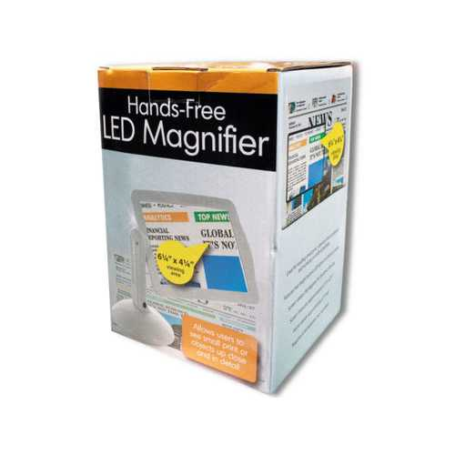 Hands-Free LED Magnifier ( Case of 2 )