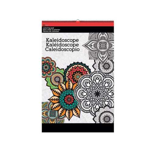 Kaleidoscope Large Coloring Pad ( Case of 12 )
