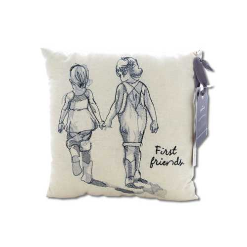 First Friends Embroidered Accent Pillow ( Case of 4 )