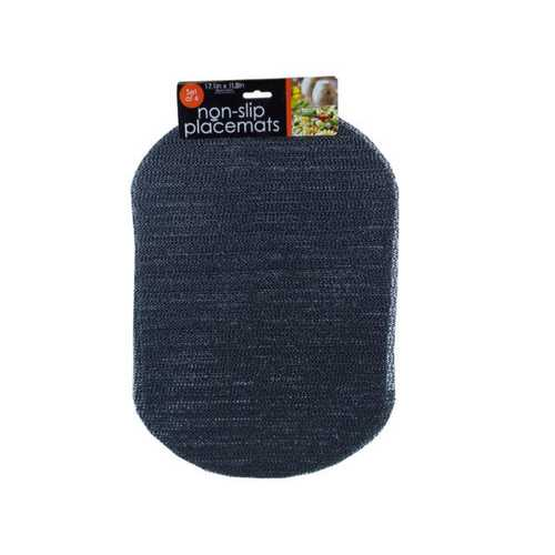 Oval Mesh Placemats Set of 4 ( Case of 12 )
