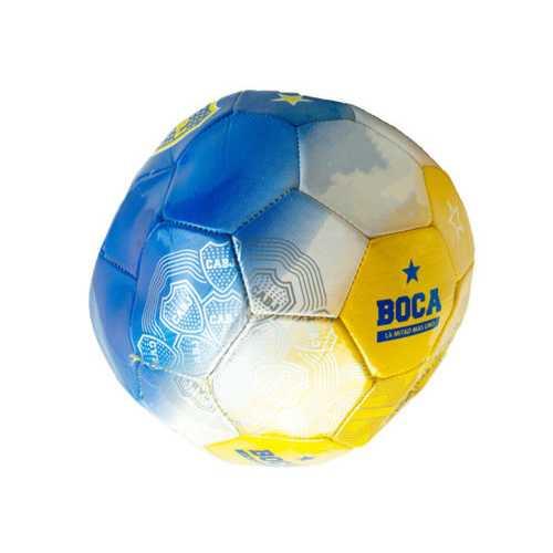 Size 5 Argentina Boca Jrs Tri-Color Soccer Ball ( Case of 4 )
