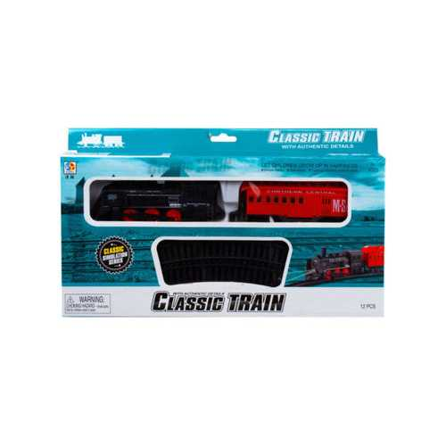 Battery Operated Light Up Railroad Set ( Case of 4 )