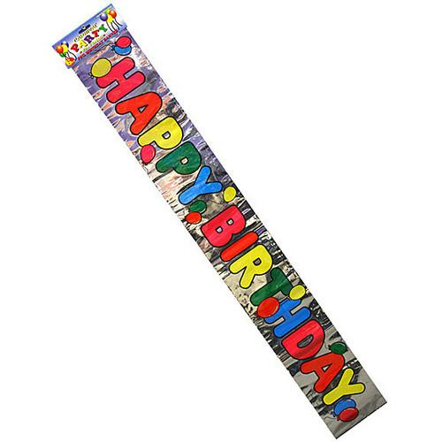 Foil Happy Birthday Banner ( Case of 108 )