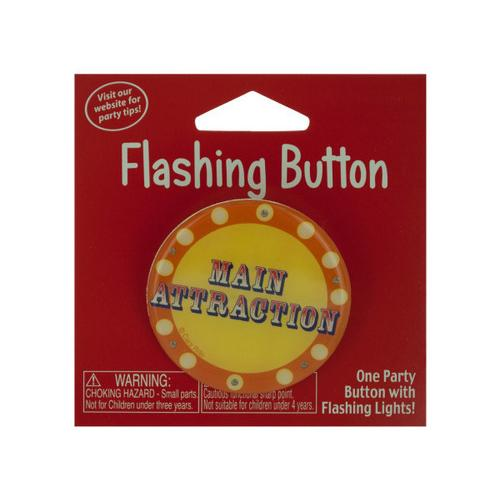 Main Attraction Flashing Button ( Case of 72 )