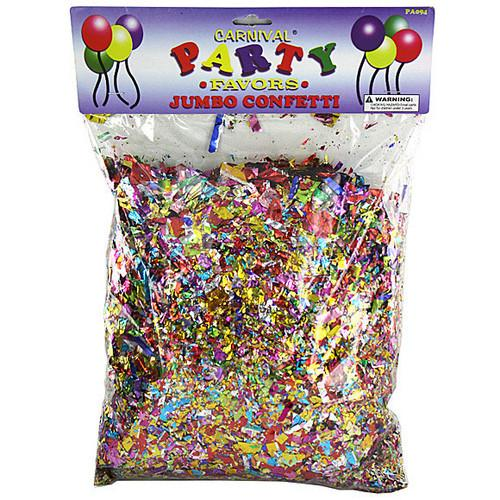 Jumbo Metallic Confetti Pack ( Case of 24 )