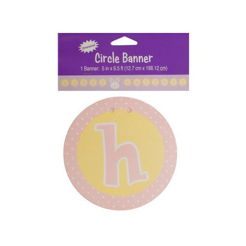 Happy Easter Circle Banner ( Case of 18 )