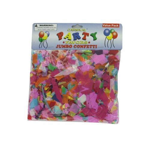 Jumbo Paper Confetti ( Case of 48 )