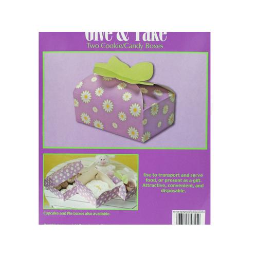 Spring Flowers Candy & Cookie Boxes ( Case of 72 )