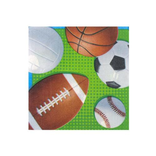 Celebrate Sports Lunch Napkins Set ( Case of 108 )