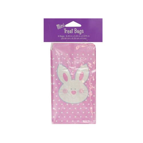 Mini Easter Bunny Treat Bags ( Case of 48 )