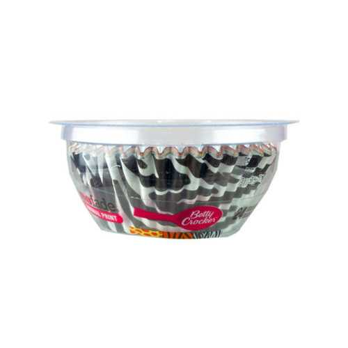 24 Count Betty Crocker Standard Size Animal Print Baking Cup ( Case of 72 )