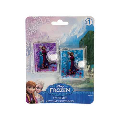 Disney Frozen Mini Keychain Notebooks Set ( Case of 48 )