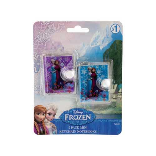 Disney Frozen Mini Keychain Notebooks Set ( Case of 72 )