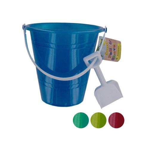 Glitter Sand Pail with Shovel ( Case of 48 )