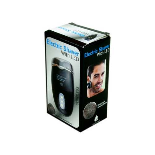 Electric Shaver with LED ( Case of 9 )