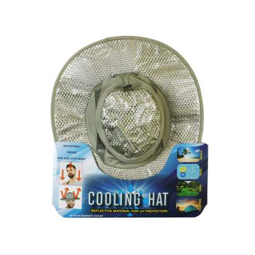 cooling fisherman hat with uv protection ( Case of 6 )