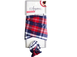 1 Count Wire Head Scarf in Assorted Plaid ( Case of 20 )