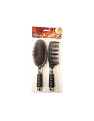 Hair Brush & Comb Set ( Case of 48 )