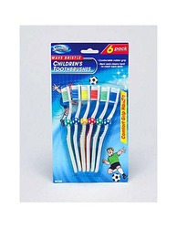 Children's Soccer Toothbrushes ( Case of 24 )