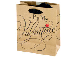 'Be My Valentine' Gift Bag ( Case of 72 )