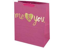 'Me & You' Medium Gift Bag ( Case of 108 )