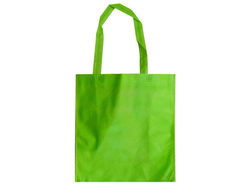 Apple Green Lightweight Shopping Tote ( Case of 30 )