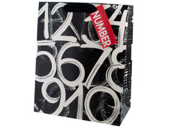 Birthday Numbers Large Gift Bag ( Case of 40 )
