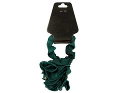 Chiffon Hair Twister with Ruffle Rose Accent ( Case of 36 )
