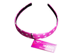Headband in Assorted Dot and Stripe Pattern ( Case of 36 )