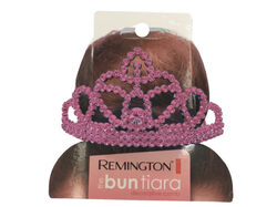 Tiara in Pink and Silver Assorted Colors ( Case of 36 )