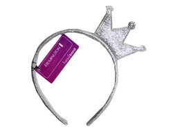 Star Crown Gold Headband with Assorted Colors ( Case of 30 )