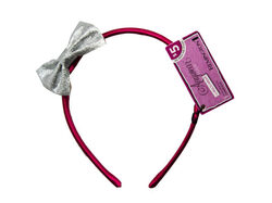Removable Bow Pink Head Band ( Case of 60 )