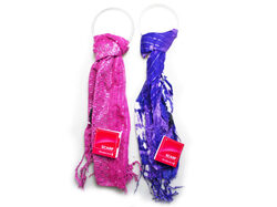 Pink Squin Scarf and Purple Tye Dye Scarf ( Case of 40 )