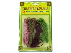Imitation Leather Cords ( Case of 36 )