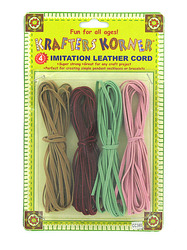 Imitation Leather Cords ( Case of 48 )