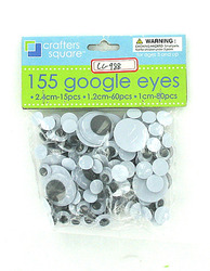 Plastic Craft Wiggly Eyes ( Case of 24 )