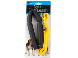 Category: Dropship Pet Supplies, SKU #DI226-144, Title: Nylon Dog Leash with Foam Handle Cover ( Case of 144 )