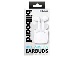 Billboard Bluetooth True Wireless Earbuds with Charging Case ( Case of 2 )