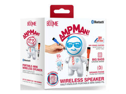 Ampman Dry Erase DIY White Bluetooth Speaker ( Case of 2 )