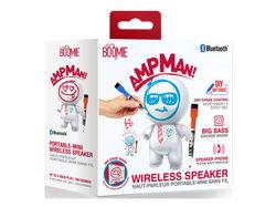 ampman dry erase diy white bluetooth speaker ( Case of 6 )