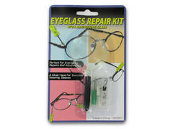 Eyeglass Repair Kit with Magnifying Glass ( Case of 96 )