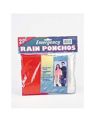 Emergency Rain Ponchos ( Case of 72 )