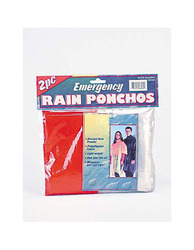 Emergency Rain Ponchos ( Case of 96 )