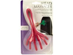 Flexible Plastic Head Massager ( Case of 48 )